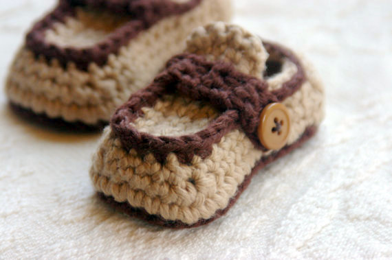 Boy Button Loafer Crochet Pattern For Button Loafers Booties