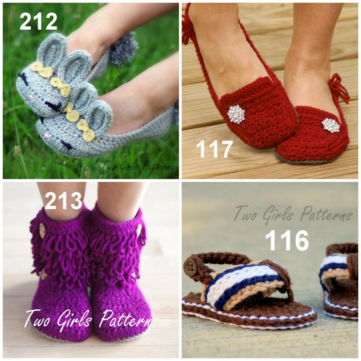 Crochet patterns 2 for 10.00 combo deal