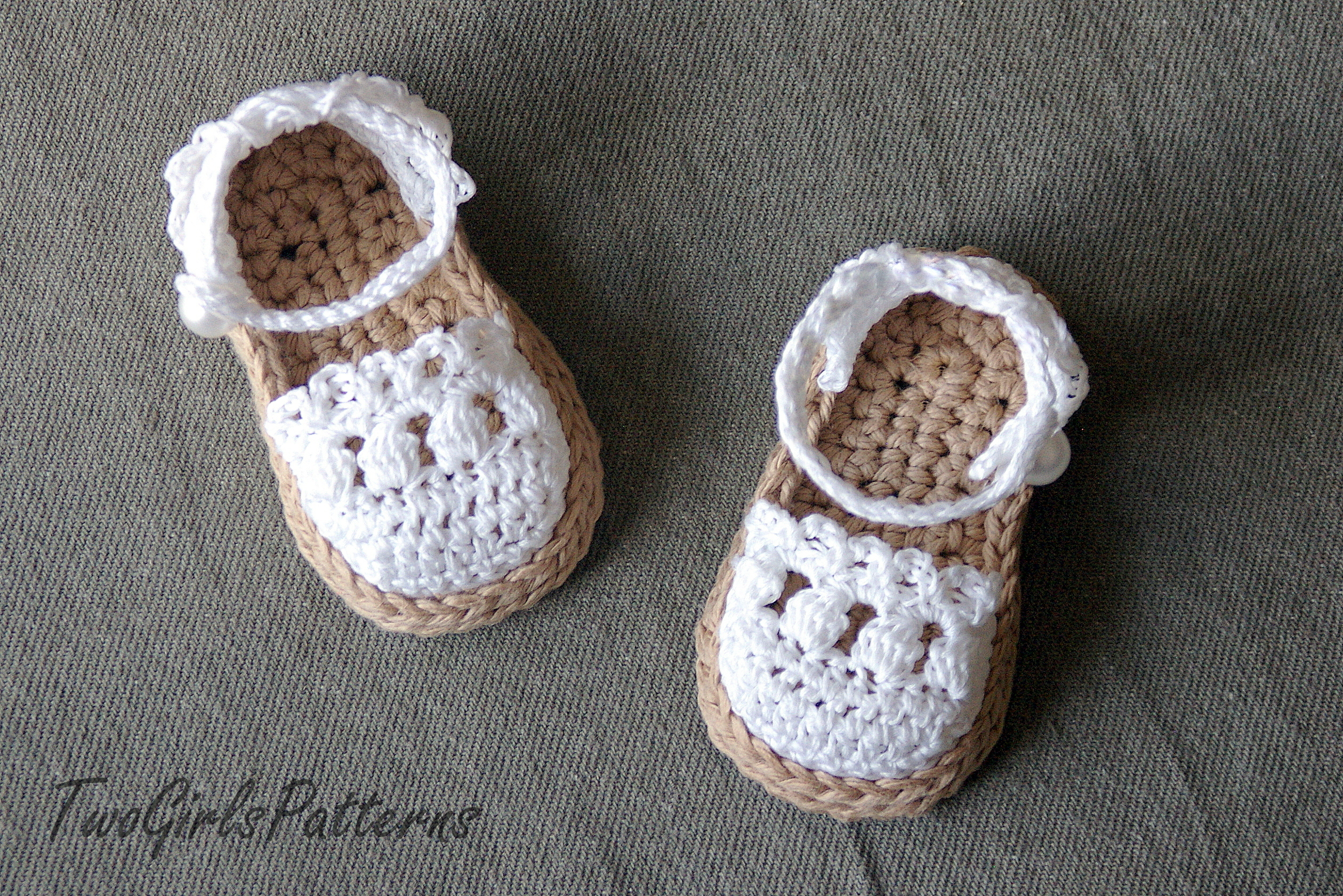 Crochet Pattern For Baby Espadrille Sandals Crochet Pattern 119 On